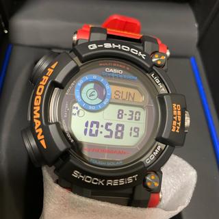 ジーショック(G-SHOCK)の[カシオ] 腕時計 ジーショック フロッグマン GWF-D1000ARR-1JR(腕時計(デジタル))
