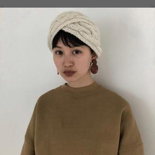 トゥデイフル(TODAYFUL)の【新品♡】TODAYFUL wool hair turban(ヘアバンド)