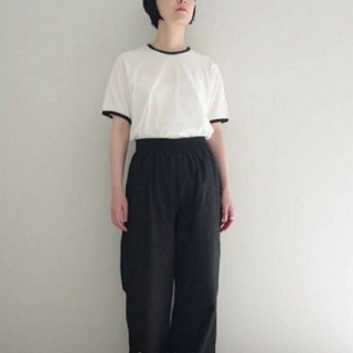 ヤエカ(YAECA)のTHE HINOKI 半袖Tシャツ リンガーTシャツ(Tシャツ(半袖/袖なし))