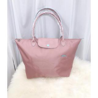 ロンシャン(LONGCHAMP)の新品ロンシャン ルプリアージュ クラブ トートバッグ Lサイズ ピンク(トートバッグ)