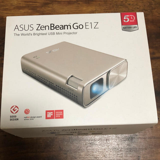 ASUS(エイスース)のASUS プロジェクター スマホ/家電/カメラのテレビ/映像機器(プロジェクター)の商品写真