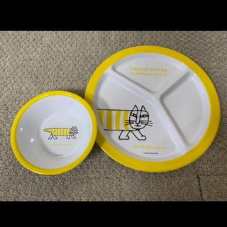 リサラーソン(Lisa Larson)のリサラーソン  メラミンプレート ボウル セット(プレート/茶碗)