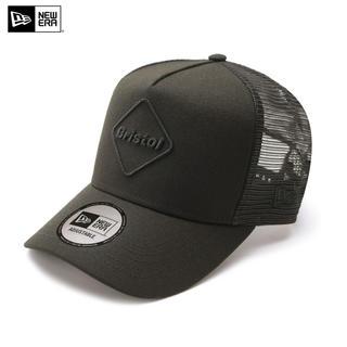 F.C.R.B. - 20AW FCRB  NEW ERA EMBLEM MESH CAP