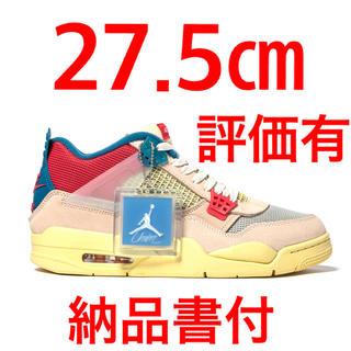 ナイキ(NIKE)のUnion × Nike Air Jordan 4 Retro SP 希少(スニーカー)