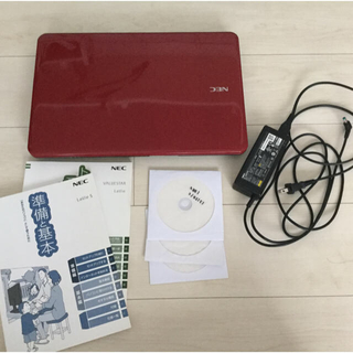 エヌイーシー(NEC)の訳アリ NEC Lavie LS150/C 4GB ノートpc ノートパソコン(ノートPC)