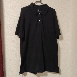 ギャップ(GAP)のポロシャツ GAP ブラック(ポロシャツ)