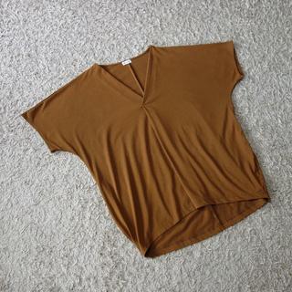 プラステ(PLST)のPLST/Vネックプルオーバー(カットソー(半袖/袖なし))
