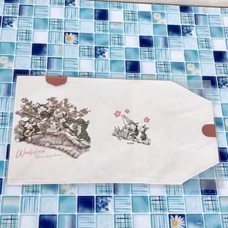 最終値下済✨《イベント限定》EV帆布ブックカバー 永遠の桜 ダヤン ジタン  (ブックカバー)