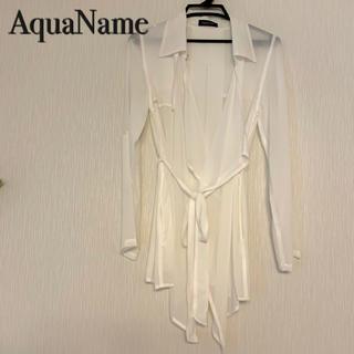 アクアネーム(AquaName)のAquaName シャツ(Tシャツ(半袖/袖なし))