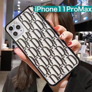 ディーホリック(dholic)の★999円セール★ iPhone11ProMax シンプルロゴ スマホケース (iPhoneケース)