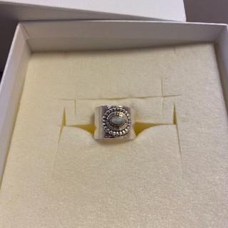 アリシアスタン(ALEXIA STAM)のアリシアスタンホワイトターコイズリング (リング(指輪))