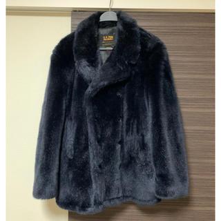 シュプリーム(Supreme)のsupreme schott 17aw Faux Fur Peacoat 値下げ(ピーコート)