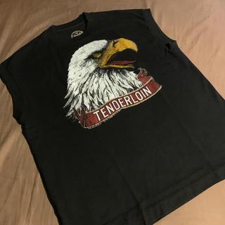 テンダーロイン(TENDERLOIN)のテンダーロイン  イーグル ノースリーブ Mサイズ(Tシャツ/カットソー(半袖/袖なし))