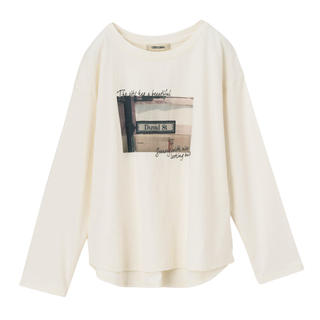 ココディール(COCO DEAL)のぺんさま COCO DEAL  フォトプリントコットンロンT(Tシャツ(長袖/七分))