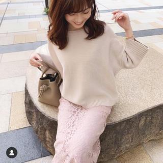 ノーブル(Noble)の中村麻美さん着用 noble レーススカート(ロングスカート)