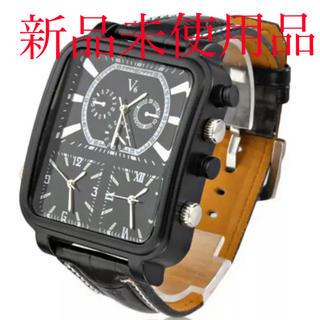 ブイシックス(V6)の【値引き中】V6 メンズ 腕時計 ブラック(腕時計(アナログ))