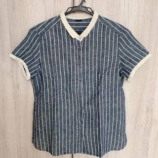 パーリッシィ(PAR ICI)のリネンシャツ(シャツ/ブラウス(半袖/袖なし))
