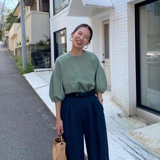 【CLANE 】クラネ BALOON SLEEVE KNIT 新作 新品 完売品(ニット/セーター)