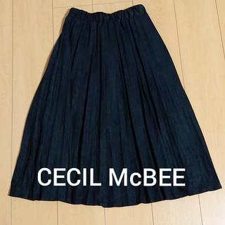 セシルマクビー(CECIL McBEE)の新品◇CECIL McBEEプリーツスカート(ロングスカート)