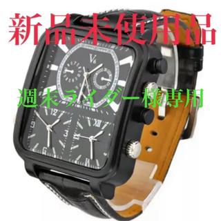 ブイシックス(V6)の【大幅値引き中】V6 メンズ 腕時計 ブラック(腕時計(アナログ))