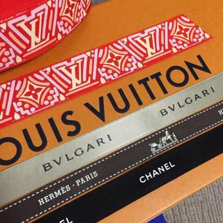 ルイヴィトン(LOUIS VUITTON)の計4mです★ブランド リボン Newルイヴィトン など(ラッピング/包装)