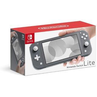 任天堂 スイッチライト 本体 グレー Nintendo Switch 新品(家庭用ゲーム機本体)