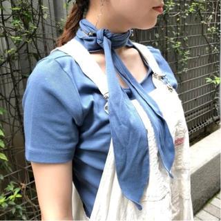 レイビームス(Ray BEAMS)のray beams ボウタイ付きTシャツ(Tシャツ(半袖/袖なし))
