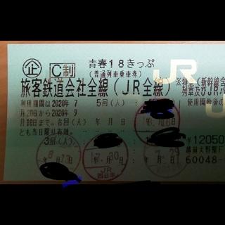 青春18きっぷ  1回分 9/10まで(鉄道乗車券)