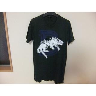 バルマン(BALMAIN)のバルマンオム『BALMAIN HOMME』タイガー半袖Tシャツ S ダメージ加工(Tシャツ/カットソー(半袖/袖なし))