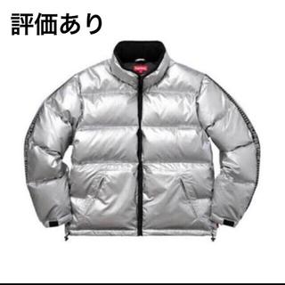 シュプリーム(Supreme)のsupreme reflective sleeve logo puffy L(ダウンジャケット)