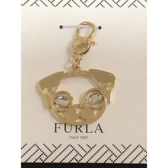 Furla(フルラ)の未開封 フルラ バッグ チャーム イヌ ドッグ 犬 レディースのアクセサリー(チャーム)の商品写真