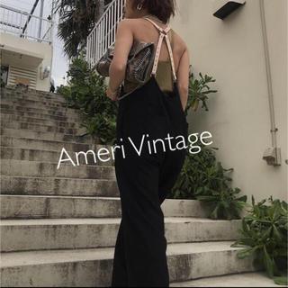 Ameri VINTAGE - MEDI DADDY SUSPENDER PANTS 19AW 当日発送