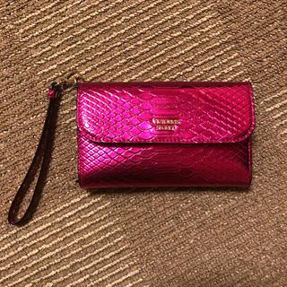 ヴィクトリアズシークレット(Victoria's Secret)のビクトリアシークレット 財布 スマホケース(モバイルケース/カバー)