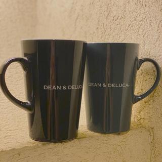 ディーンアンドデルーカ(DEAN & DELUCA)の2個セット‼️DEAN & DELUCA ラテマグ ブラック&グレー  Mサイズ(グラス/カップ)