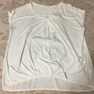 プラステ(PLST)のPLST トップスM(カットソー(半袖/袖なし))
