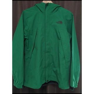 ザノースフェイス(THE NORTH FACE)のノースフェイス スクープジャケット グリーン zip in zip(マウンテンパーカー)