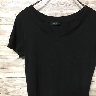 イング(INGNI)の【イング】まとめ売り 半袖シャツ 黒 ブラウス 白 レディース(シャツ/ブラウス(半袖/袖なし))