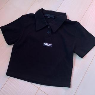 ミックスエックスミックス(mixxmix)のHIDE AND SEEK クロップドトップス ポロシャツ(Tシャツ(半袖/袖なし))