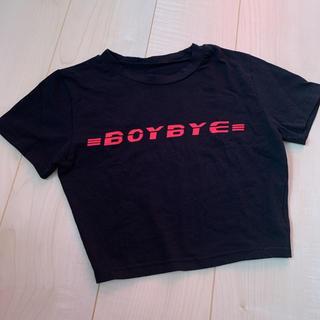 ミックスエックスミックス(mixxmix)のクロップドTシャツ(Tシャツ(半袖/袖なし))
