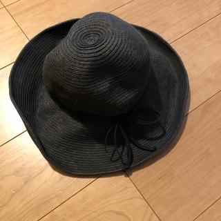 ユニクロ(UNIQLO)の麦わら帽子(麦わら帽子/ストローハット)