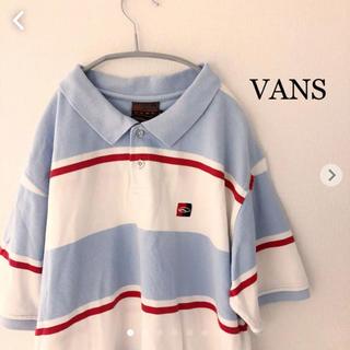 VANS - VANS ポロシャツ Lサイズ バンズ