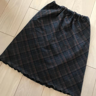 ひざ丈 スカート(ひざ丈スカート)