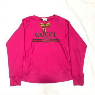 グッチ(Gucci)のGUCCI 激レアトレーナー リボンブローチ 最終値下げ(トレーナー/スウェット)