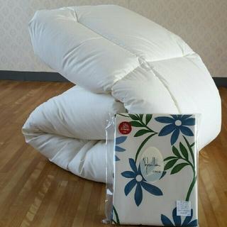 シビラ(Sybilla)のホテル仕様 増量 掛け布団&シビラカバー  アレルギー対策 清潔 安心 日本製(布団)