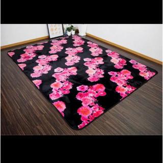 レディー(Rady)のrady風 リゾフラ リゾートフラワー ラグ マット 絨毯 カーペット 2帖 (ラグ)