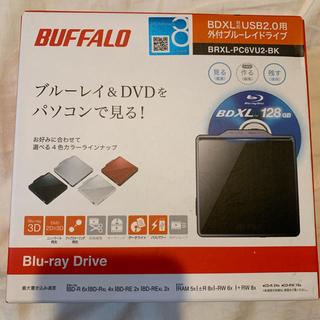 バッファロー(Buffalo)の⚠️専用⚠️ブルーレイドライブ DVDドライブ 外付け bdドライブ(ブルーレイプレイヤー)