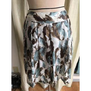 ノーリーズ(NOLLEY'S)のnolleys プリーツプリントスカート(ひざ丈スカート)