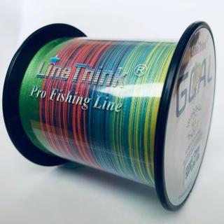 PEライン 0.4号 マルチカラー 500M(釣り糸/ライン)