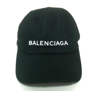 バレンシアガ(Balenciaga)のバレンシアガ キャップ美品  - 黒×白(キャップ)