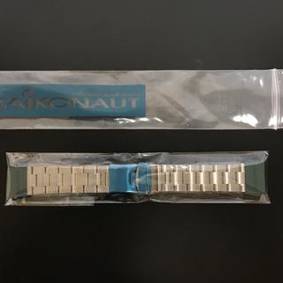 セイコー(SEIKO)の最終出品!新品!22mm  タイコノート・オイスター ストレートエンド(金属ベルト)